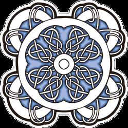 Traditional Celtic Cross Ornament Sticker