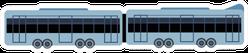 Train Simple Illustration Sticker