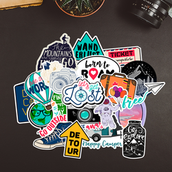 Explore the World - Travel Sticker Bundle