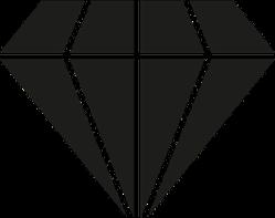Trendy Flat Diamond Sticker