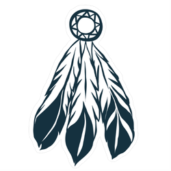 Tribal Feathers Dreamcatcher Sticker