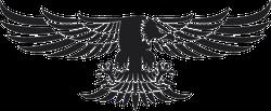 Tribal Flying Eagle Sticker