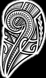 Tribal Samoan Sticker
