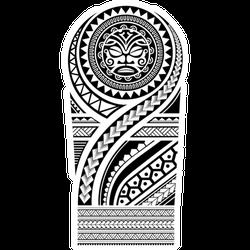 Tribal Tattoo Pattern Maori Sticker
