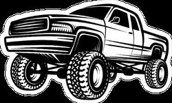 Truck 4x4 Pickup Sticker
