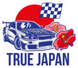True Japan JDM Sticker