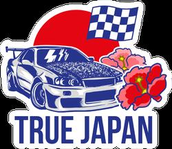True Japan JDM Sticker