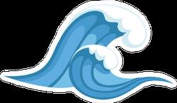 Tsunami Wave Sticker