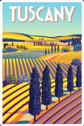 Tuscany Stamp Sticker