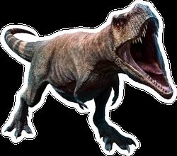 Tyrannosaurus Rex Illustration Sticker