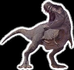 Tyrannosaurus Rex Roaring Sticker