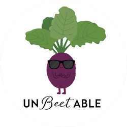 Un-beet-able Sticker