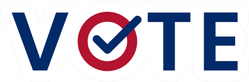 Us American Presidential Election 2020 Vote Sticker