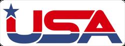 USA Star Logo Sticker