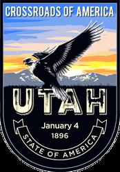 Utah Banner Sticker