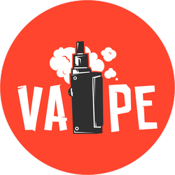 Vape Device And Smoke Sticker