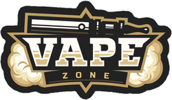 Vape Zone Logo Sticker