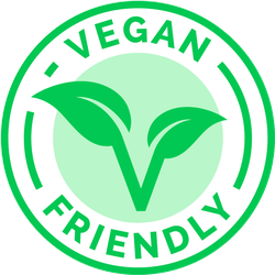 Vegan Friendly Badge Sticker