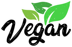 Vegan With Leaves Sticker