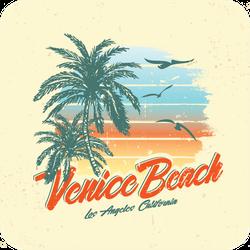 Venice Beach Sticker