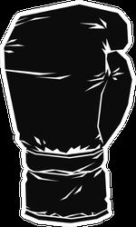 Vintage Boxing Glove Sticker