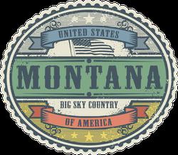 Vintage Montana Sticker