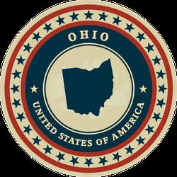 Vintage Ohio State Sticker