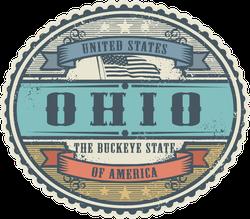 Vintage Ohio Sticker