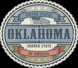 Vintage Oklahoma Sticker