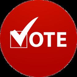 Voting Symbol Sticker