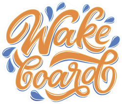 Wakeboard Club In Graffity Style Sticker