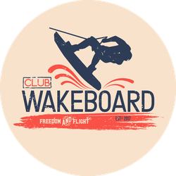 Wakeboard Club Sticker