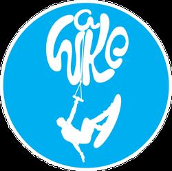 Wakeboard  Logo Sticker