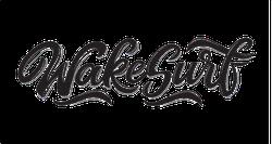 Wakesurf Lettering Sticker