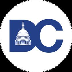 Washington DC Sticker
