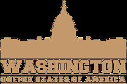 Washington DC US Capital Sticker