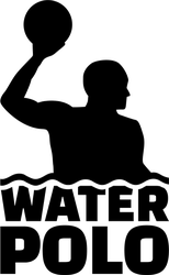 Water Polo Player With Text Sticker