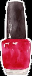 Watercolor Nail Polish Sticker
