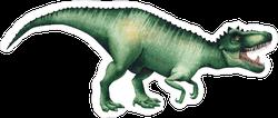 Watercolor Tyrannosaurus Rex Sticker