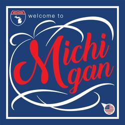 Welcome To Michigan Sticker