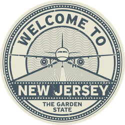 Welcome To New Jersey Sticker