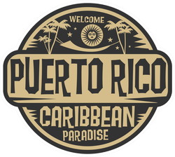 Welcome To Puerto Rico Sticker