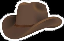 Western Cowboy Hat Sticker