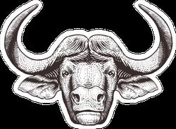 Wide Buffalo Sticker