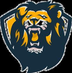 Wild Lion Mascot Sticker