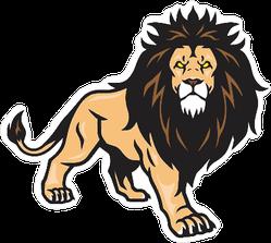 Wild Lion Sticker