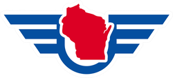 Wisconsin Logo Sticker