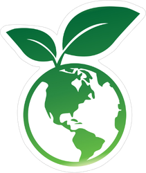 World Environment Sticker