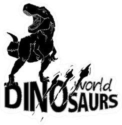 World Of Dinosaurs Sticker