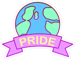 World Pride Sticker